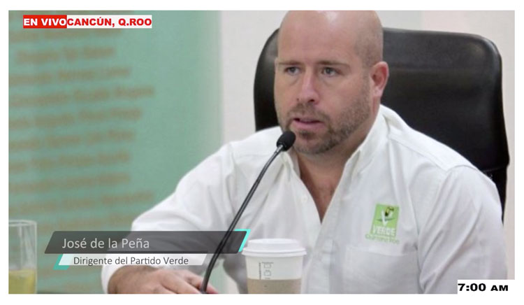 Entrevista a José de la Peña en Informativo Turquesa