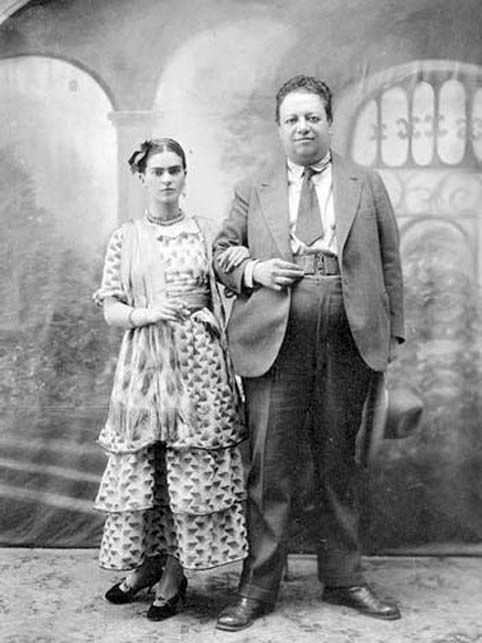 Diego y Frida, imagen de Tina Modotti.