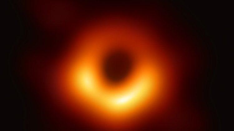 fotografia agujero negro