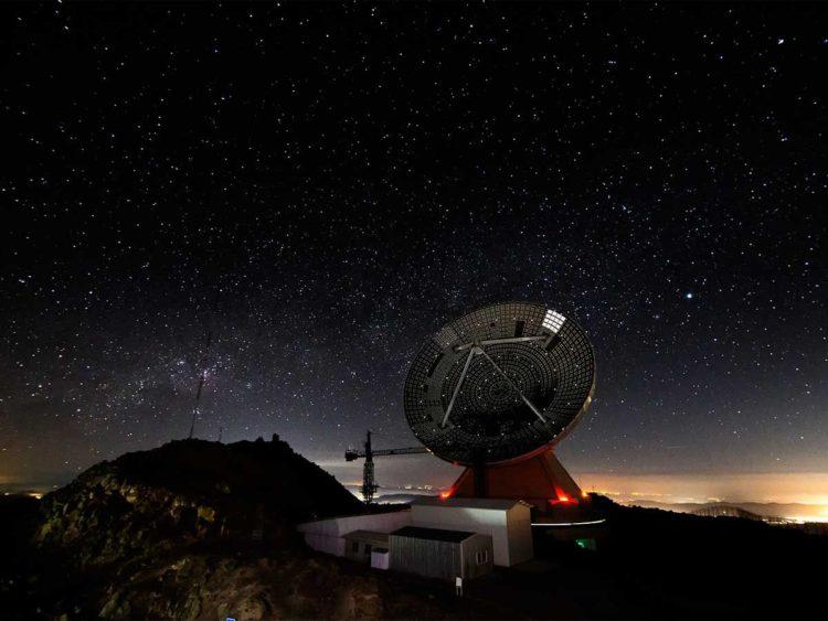 Gran Telescopio Milimétrico (GTM) Alfonso Serrano