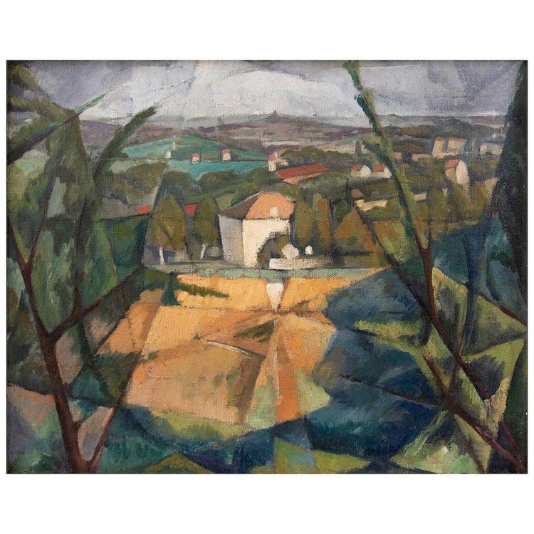 Paysage de Fontenay