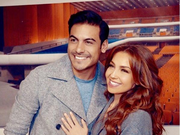 Thalia y Carlos Rivera