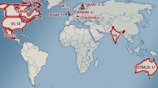Países que mas veces beben alcohol al año