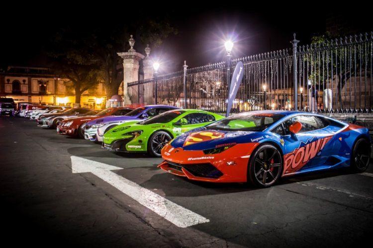autos de lujo en Cancún