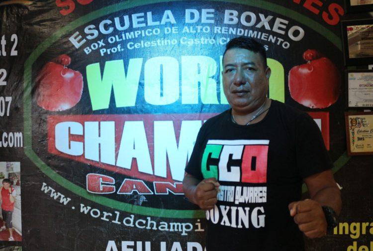 entrenador Celestino Castro Chavelas