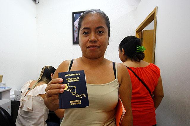 tramite pasaporte