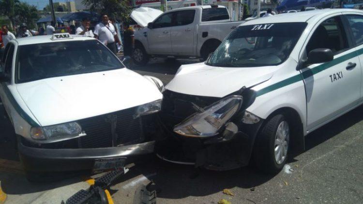 Chafiretes involucrados en casi el 50 por ciento de los accidentes en Cancún.