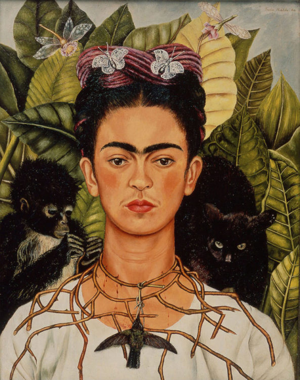Frida Kahlo autoretrato