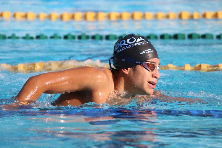 Andy Guerrero durante su preparación para los Juegos Para-Panamericanos.