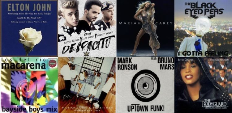 canciones billboard list