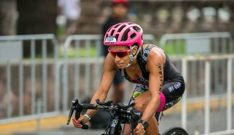 La atleta nacida en Cancún, en 1985, lleva 20 años en la disciplina del triatlón