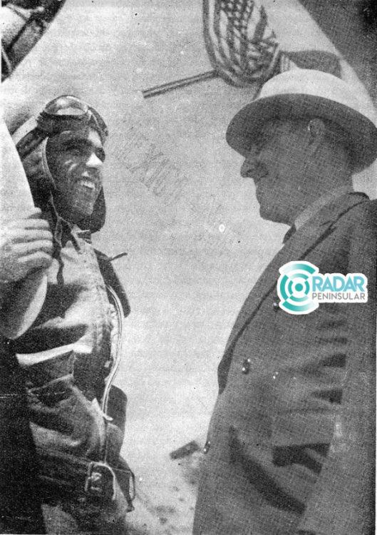 El aviador Francisco Sarabia