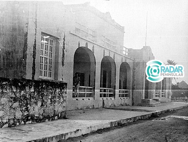 El hotel Playa, en Cozumel, hoy edificio del Museo de la Isla. Foto del archivo del Museo.