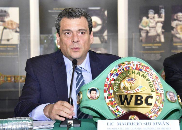 Mauricio Sulaimán Saldívar, presidente del Consejo Mundial de Boxeo (CMB).