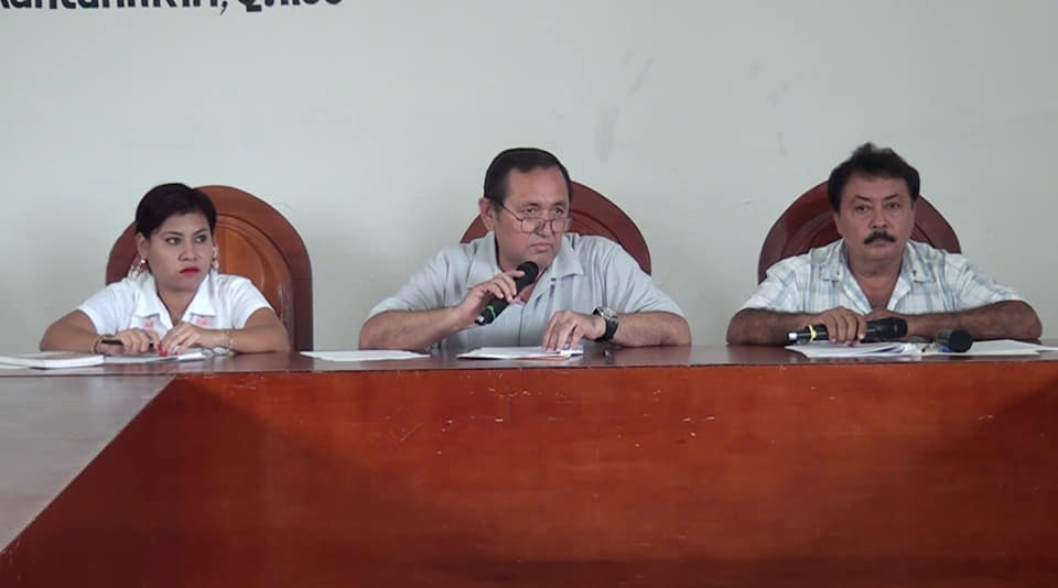 Nivardo Mena, presidente municipal del municipio de Lázaro Cárdenas