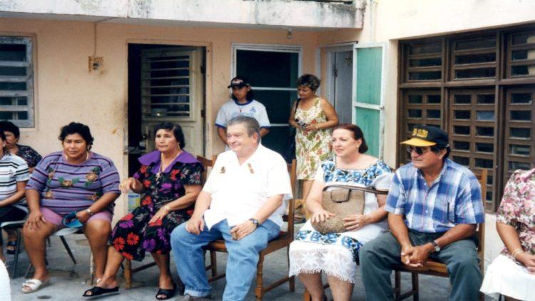 La defensa de los pueblos mayas, llevó a Gastón Alegre a meterse cada vez más en la política.