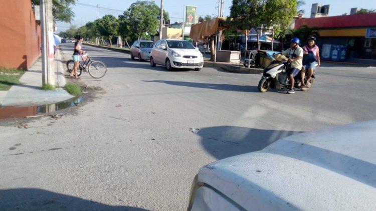 señalización vial en Cancún