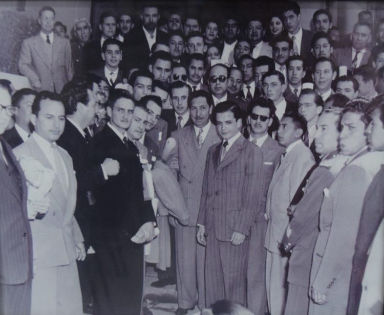 Don Gastón Alegre López joven