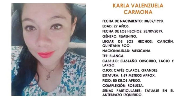 Karla Valenzuela Carmona Alerta ALBA