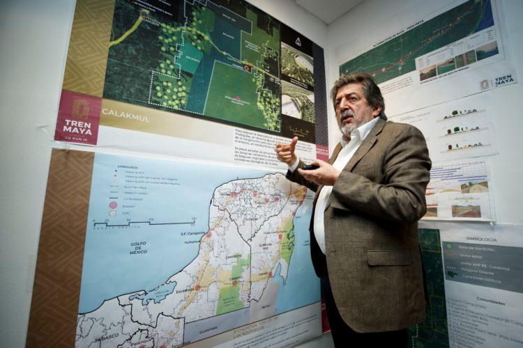 El titular del Fonatur, Rogelio Jiménez Pons, declaró que el Tren Maya es una oportunidad para saldar la deuda histórica con el Sureste del país.