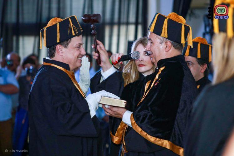 Diputado Luis Alegre Salazar Doctor Honoris Causa