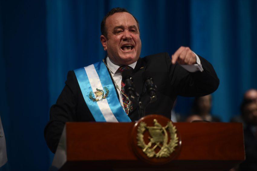 Alejandro Giammattei, aliado del Tren Maya y la 4T
