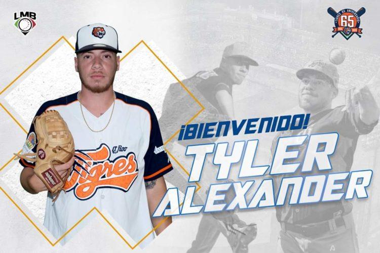 Tyler Alexander Tigres de Quintana Roo.